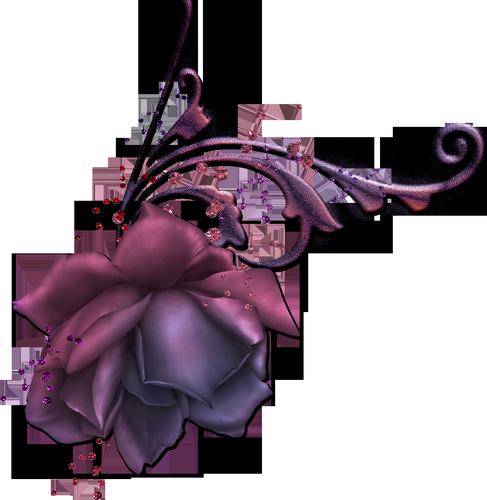 objets divers violet mauve