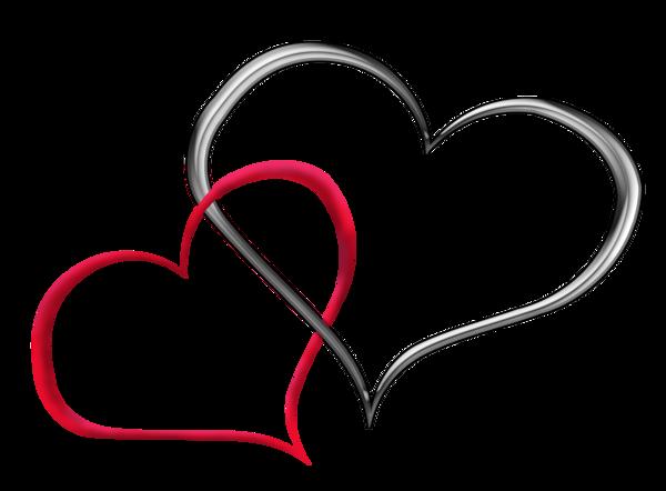 Saint valentin coeurs gris - Image st valentin coeur ...