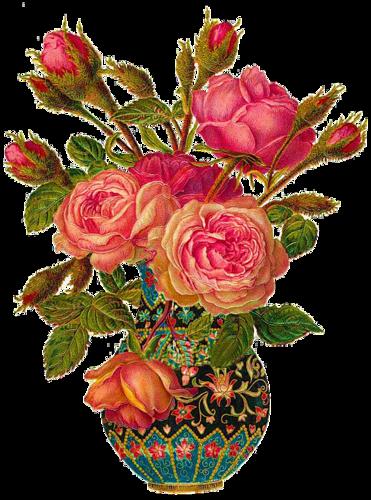 Vintage fleurs page 3 - Decorer un vase transparent ...
