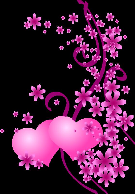 Saint valentin coeurs roses page 2 - Dessin de fleur en couleur ...
