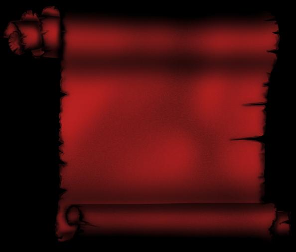 Parchemin rouge - Decoration de grand vase transparent ...