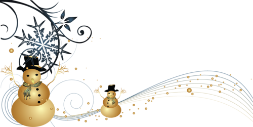 Noel bonhommes de neige - Clipart sapin de noel gratuit ...