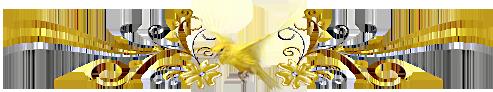 Séparateur avec oiseau canari