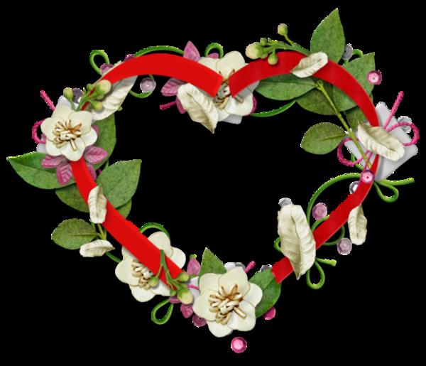 Coeurs page 3 - Coeur avec des fleurs ...