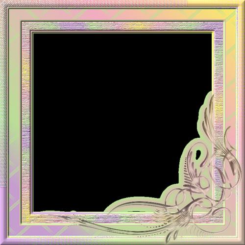 Cadres en couleurs - Cadre photo transparent ...